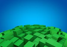 Free Abstract Cube Background Royalty Free Stock Image - 21207626