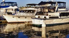 Free Yachts At Marina Stock Photos - 21208003
