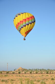 Free Colorful Hot Air Balloon Stock Image - 21208241