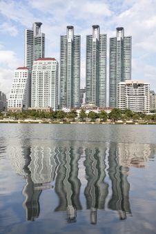 Building In Bangkok, Thailand Stock Photos
