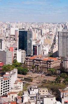 Free City Sao Paulo Royalty Free Stock Photos - 21208578