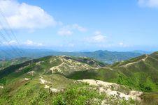 Free Mountain Landscape In Hong Kong Stock Photo - 21208800