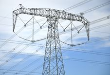 Free High-tension Line And Transformer Stock Image - 21208801