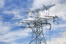 Free High-tension Line And Transformer Stock Images - 21208844