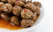 Free Meatballs Royalty Free Stock Photos - 21209468