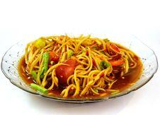 Free Papaya Salad Hot And Spicy Royalty Free Stock Image - 21209546