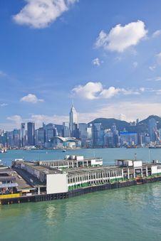 Free Hong Kong Skyline At Day Stock Photo - 21209700