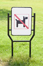 Free No Dogs Pets Allowed Warning Sign Royalty Free Stock Photography - 21210437
