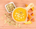 Free Pumpkin Soup Royalty Free Stock Photography - 21214357