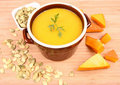 Free Pumpkin Soup Stock Photography - 21214392