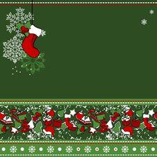 Free Christmas Greeting Card Stock Image - 21210141