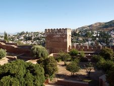 Free Alhambra-Spain Royalty Free Stock Photography - 21210477
