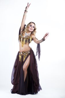 Free Folk Dancing Royalty Free Stock Image - 21210486