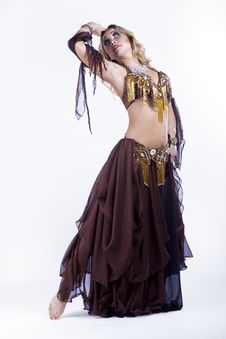 Free Folk Dancing Stock Image - 21210501