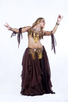 Free Folk Dancing Royalty Free Stock Image - 21210526