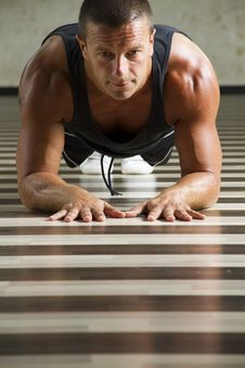 Free Fitness Instructor Workingout Stock Photo - 21211370