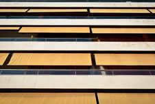 Free White And Yellow Balconies Royalty Free Stock Images - 21212029