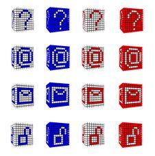 Free Icon Set Of Punctuation Symbols Stock Image - 21212241