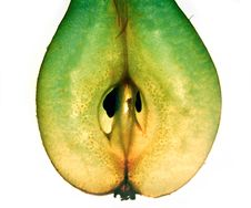Green Yellow Pears Royalty Free Stock Photo