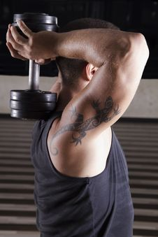 Weightlifting Stock Photo