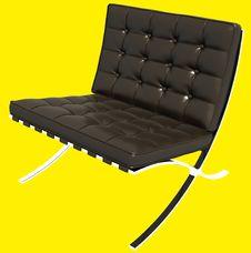 Free Brown Sofa 3D Rendering Stock Photos - 21212373