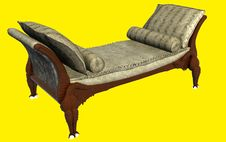 Free Classic Sofa 3D Rendering Royalty Free Stock Image - 21212406