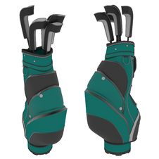 Free Golf Bags Royalty Free Stock Images - 21212469
