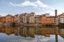Free Reflection In Florence Stock Images - 21212974