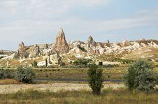 Free Volcanic Lava Ash Terrain Cappadocia Turkey Royalty Free Stock Images - 21213239