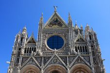 Free Siena Cathedral Stock Photography - 21213472