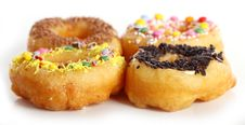 Tasty Colorful Donuts Stock Photo