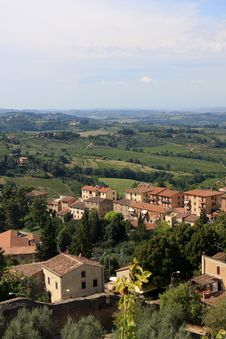 San Gimignano, Italy Stock Photos