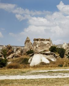 Free Sandstone And Limestone Formation Goreme Royalty Free Stock Photos - 21214478