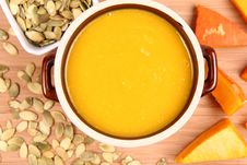 Free Pumpkin Soup Stock Photos - 21214483
