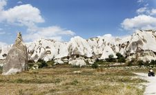 Free Quad Dirt Traking In Cappadocia Terrain Royalty Free Stock Photo - 21214595