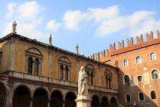 Free Piazza Dei Signori, Verona Stock Photography - 21215442