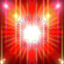 Free Sun Grunge Background Stock Photography - 21215712