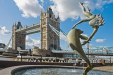 Free London Tower Bridge Stock Photo - 21215840