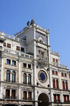 Free St. Mark S Clock Tower, Venice Royalty Free Stock Photography - 21215937