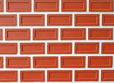 Free Modern Brick Wall Royalty Free Stock Images - 21216139