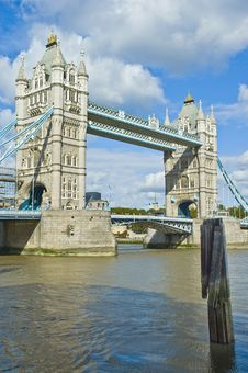 Free London Tower Bridge Stock Image - 21216221