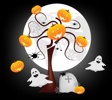 Free Happy Halloween Royalty Free Stock Images - 21216589