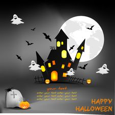 Free Happy Halloween Royalty Free Stock Photography - 21216737