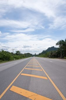 Free Contry Road In Thailand Stock Image - 21217581