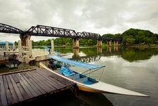 Bridge Over The River Kwai Stock Photo