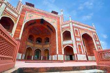 Free Humayun`s Tomb. India, Delhi Royalty Free Stock Photo - 21218035