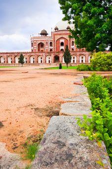 Free Humayun`s Tomb. India, Delhi Royalty Free Stock Photography - 21218037