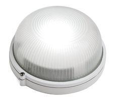 Free The Round White Lamp Is Shone Stock Photos - 21218373
