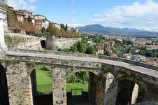 Free Porta San Giacomo, Citta Alta, Bergamo (Old Town) Royalty Free Stock Images - 21218389