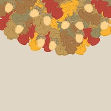 Free Autumn Background. Stock Image - 21218421